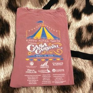 Kappa Alpha Theta CASA Carnival 2016 T-shirt